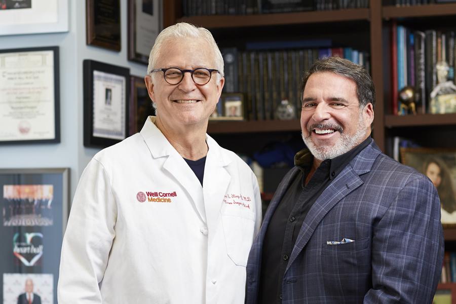 Dr. Phil Stieg and Ddr. Robert J. Hariri