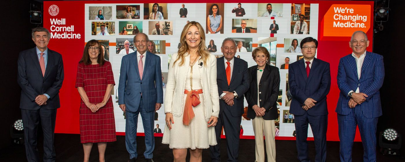 Weill Cornell Medicine launched its $1.5 billion We're Changing Medicine campaign during an event on Thursday, June 17, 2021.