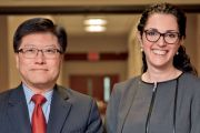 Dean Augustine M.K. Choi and Dr. Ruth Gotian