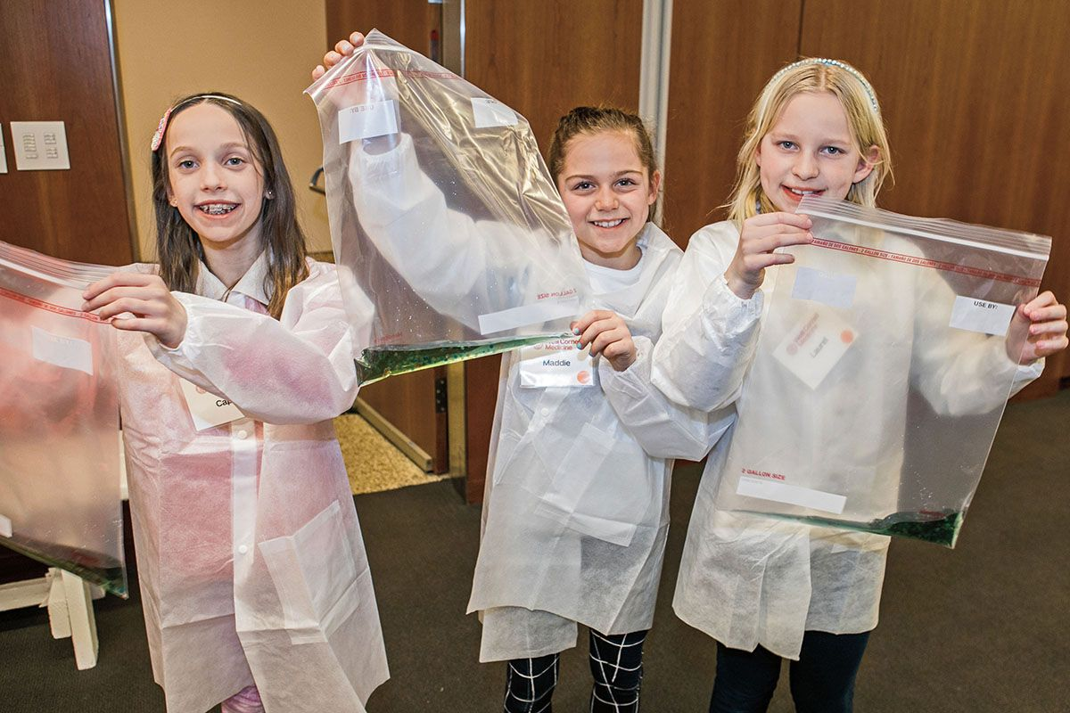 Young scientists enjoy Family Science Day