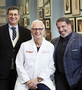 Drs. Hajjar, Stieg and Hariri