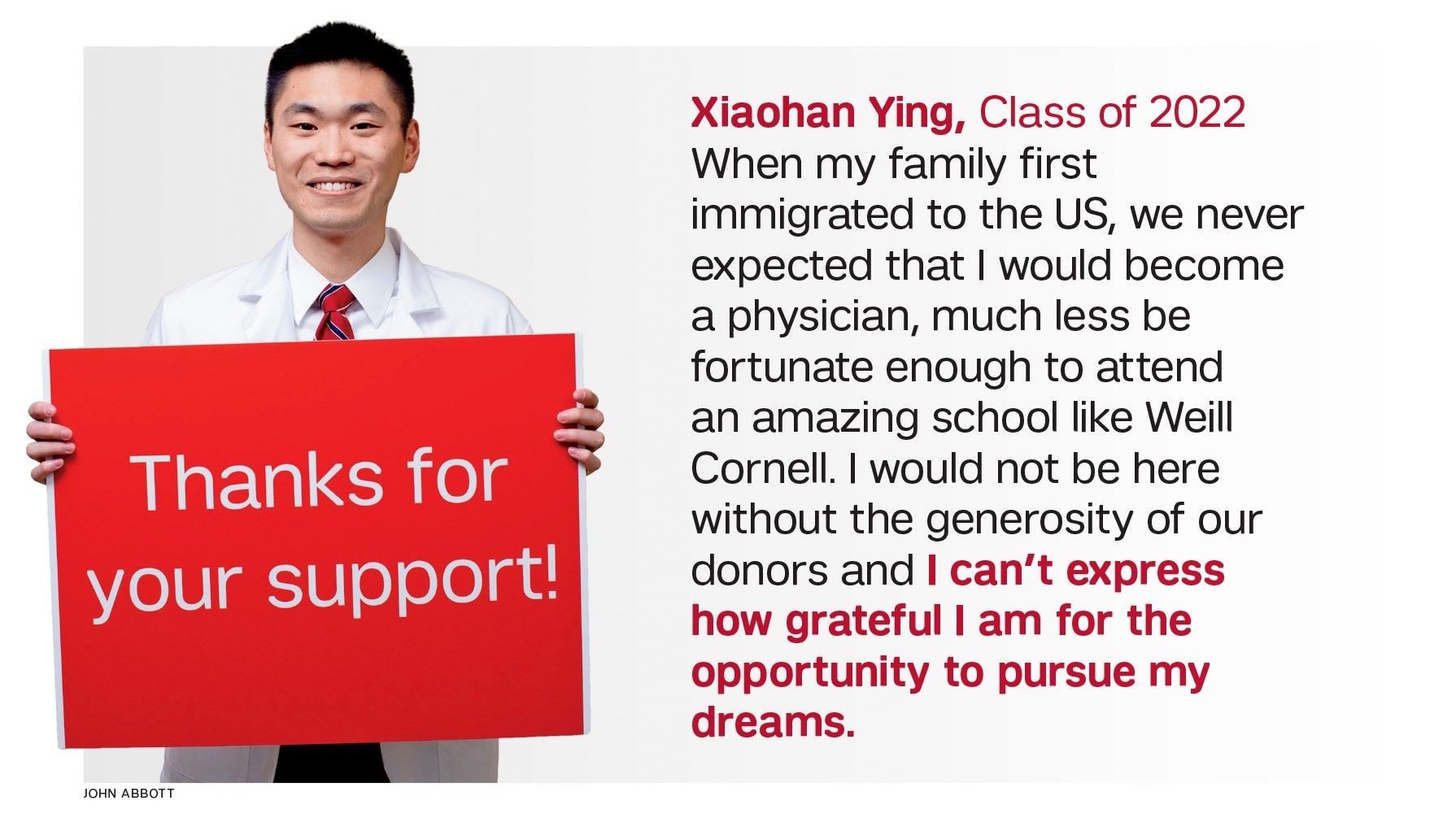 Xiachan Ying, class of 2022