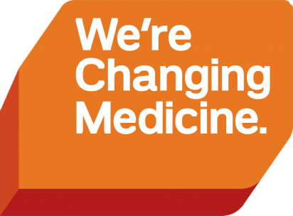We're Changing Medicine campaign graphic